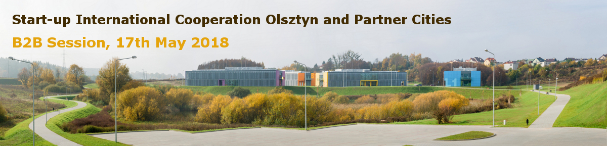 B2B session for start-ups from Olsztyn and its Partner Cities